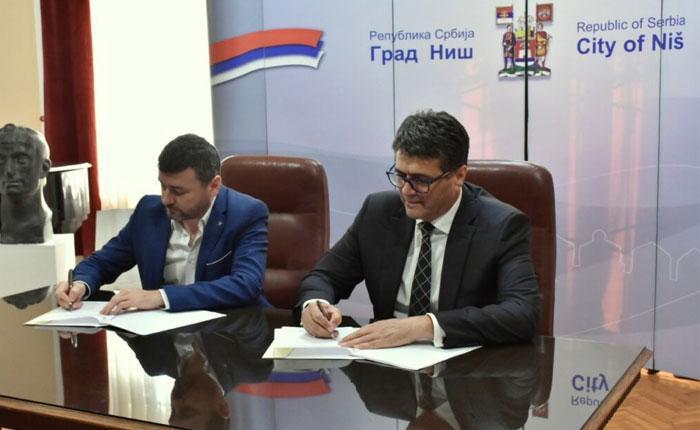 """Niš i Ćuprija partnerski realizuju projekat """"Efikasno i efektivno upravlјanje imovinom kroz uvođenje Geografskog informacionog sistema"""""""